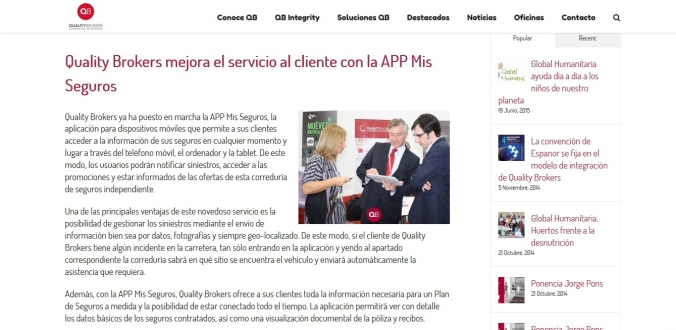 noticia quality brokers recortada