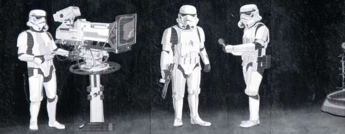 Banksy Stormtroopers Filming Oscars Canvas Print Wall Art Overstock - Banksy Canvas Wall Art